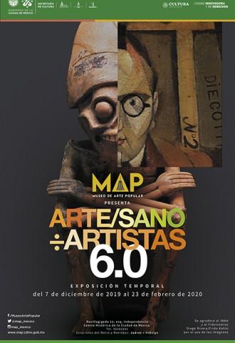 Arte/Sano ÷ Artistas 6.0